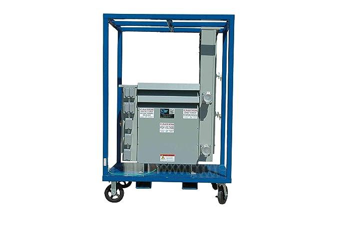 Large Power Distribution Substation Cube Skid - Frame Only - Skid