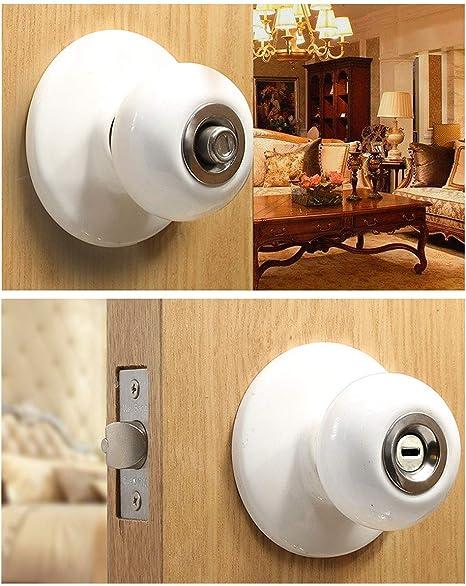 Polished Brass Finish Locks P5232TPB Privacy Knob Set