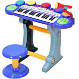 Amazon Com Little Rockers Deluxe Childrens 36 Keys Toy