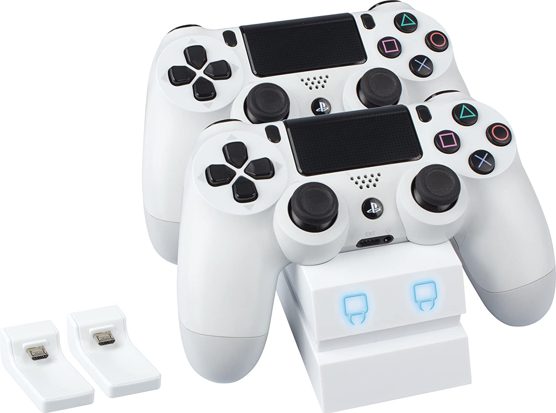 PS4 Venom PlayStation 4 Twin Docking Station White