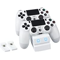 Venom PlayStation 4 Twin Charge Docking Station - White - PlayStation 4 [Importación inglesa]