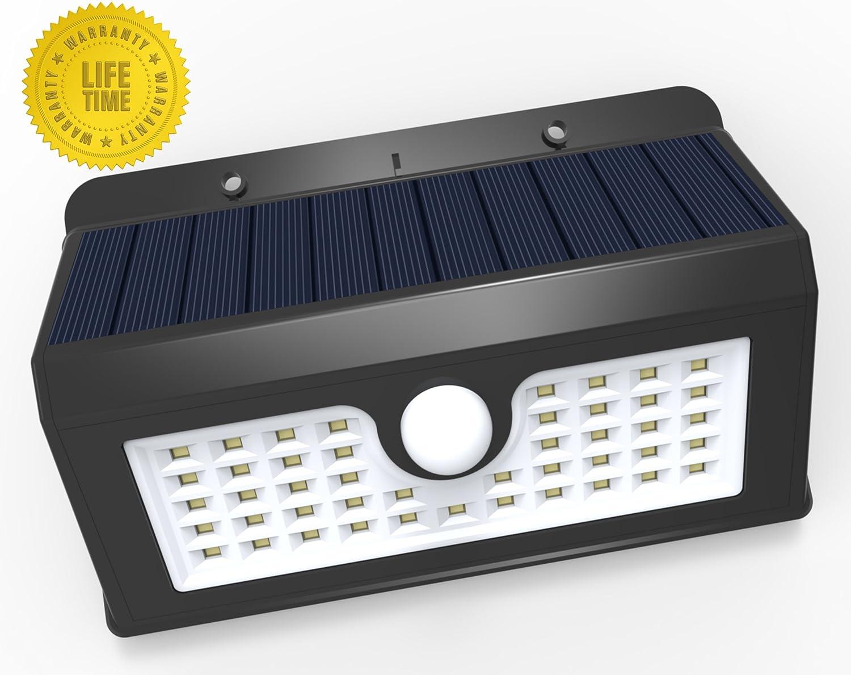 magictec 45 led wireless solar motion security light pack of 2 amazoncom