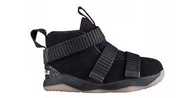 more photos 051cd 6eac7 Amazon.com | Nike Lebron Soldier 11 XI Infant Toddler Black ...