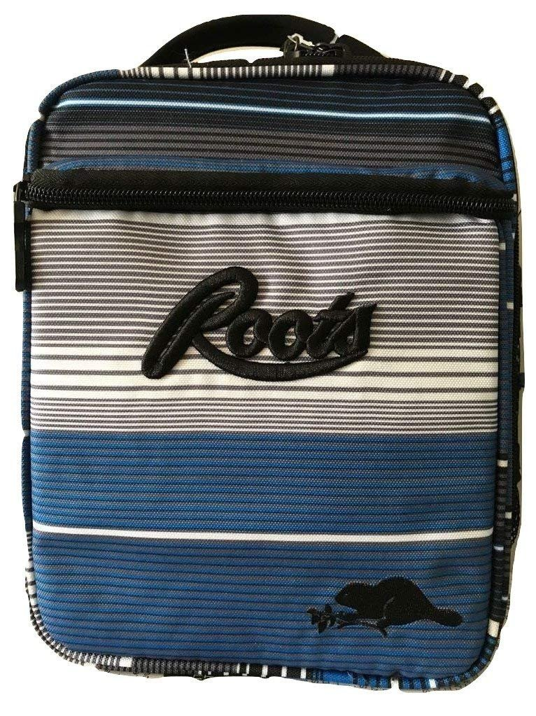 Roots 73 Insulated Lunch Box with 3 Containers and 1 Ice Pack (Multi-Stripe)