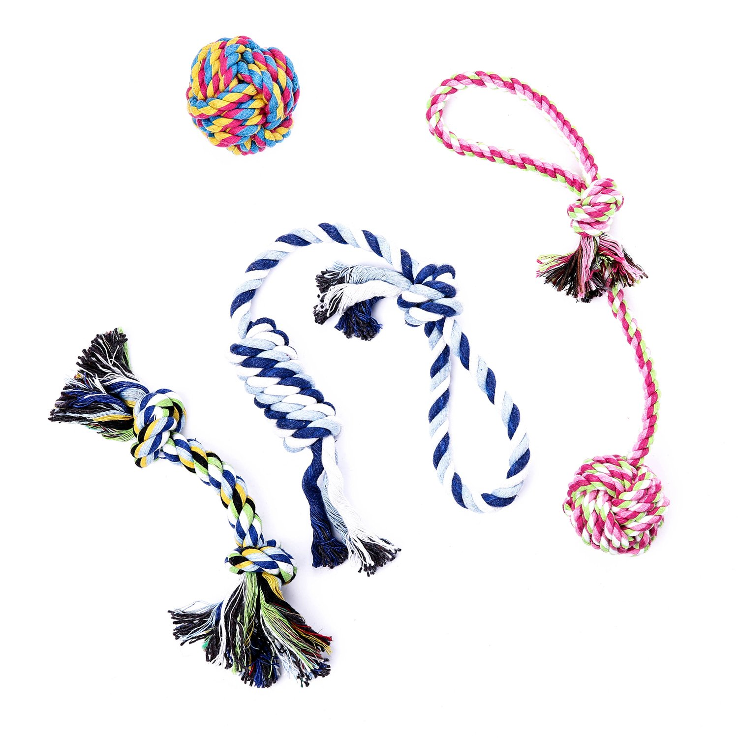 good Cotton Dog Rope Chew Toy Small to Medium Dogs Tug Rope