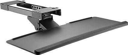 Bandeja de teclado ajustable debajo del escritorio I extraíble ...