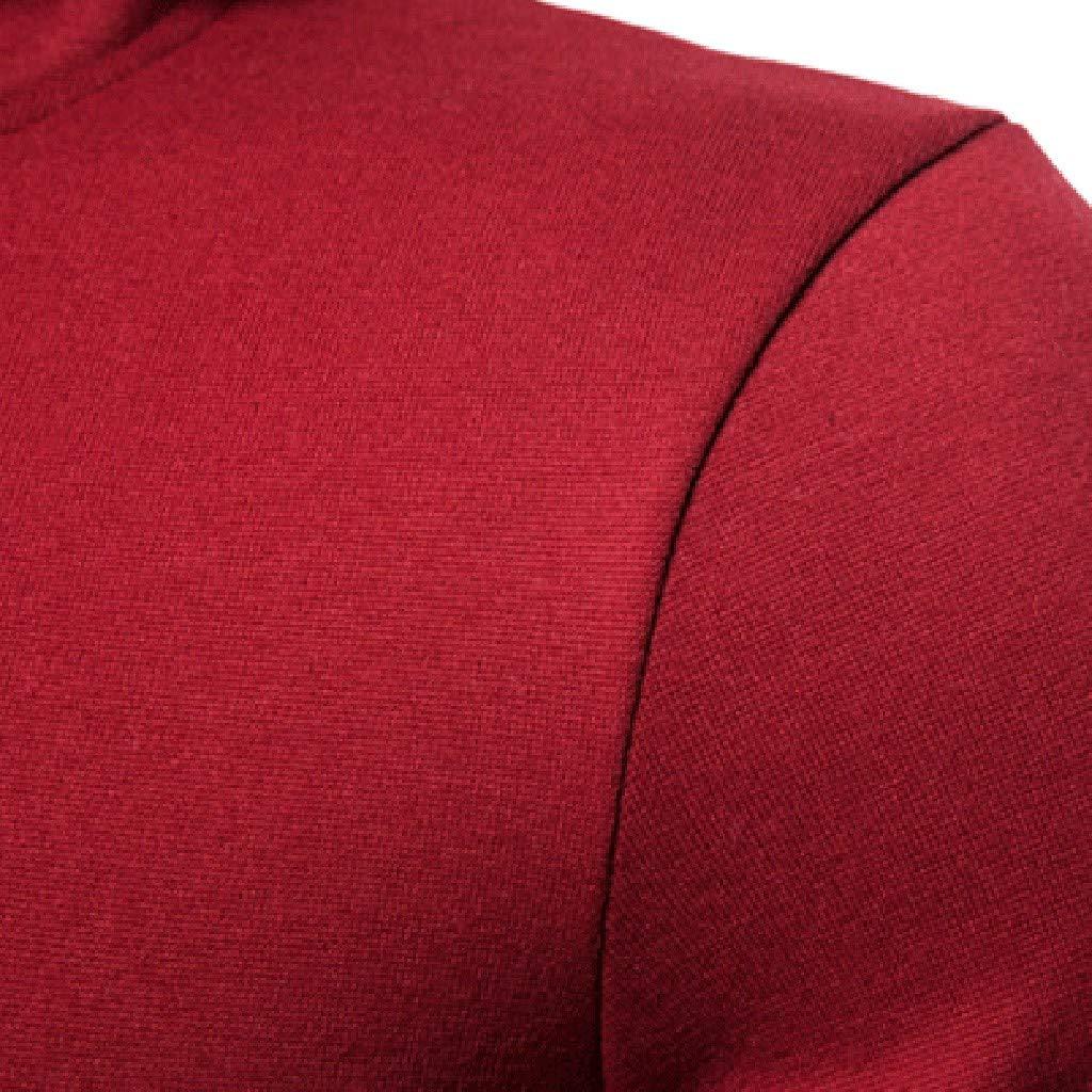 GNYD Cappotto Taglie Forti per Uomo Elegante con Cappello E Pulsante Stile di Colletto in Piedi Giacca A Vento Tinta Unita Felpa Moda A Manica Lunga Cappuccio Elegante M-XXXL