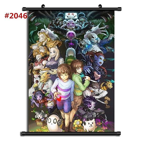Por Anime Undertale Sans Manga Póster De Pared Sala De Desplazamiento Decoración Del Hogar Arte De La Pared (#2046,40x60cm/16x24inches)
