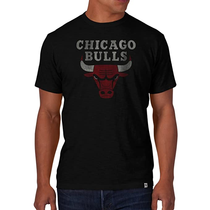 Camiseta 47 Brand – Nba Chicago Bulls Scrum negro talla: XL (X-Large