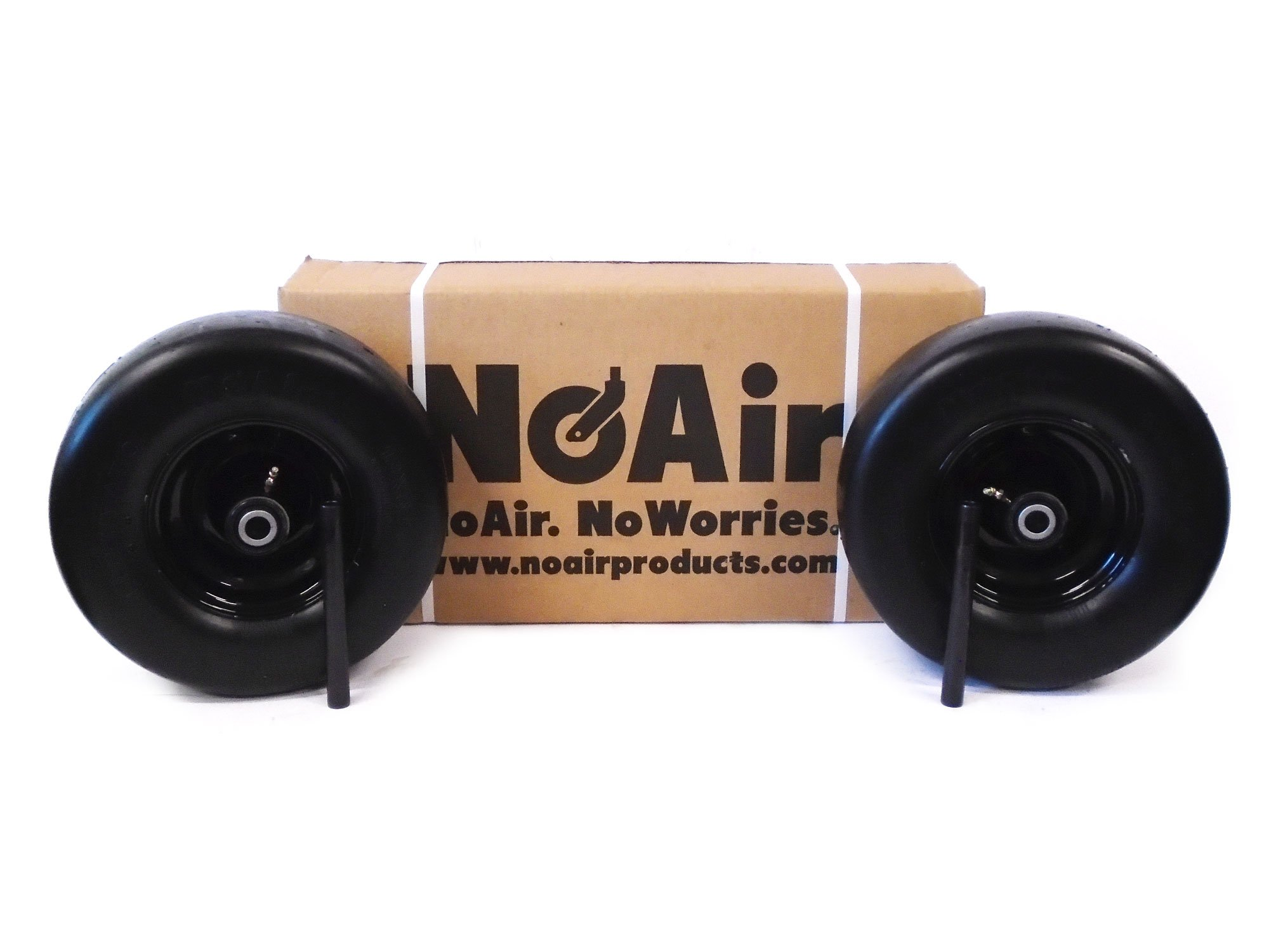 (2) BigDog Flat Free Diablo Alpha MP Stout Wheel 13x6.50-6 605065 605035 Scag