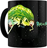 Gb Eye Rick And Morty Portal Heat Changing Mug, Ceramic, Various, 15 x 10 x 15