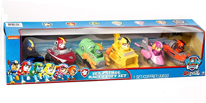 Spin Master Paw Patrol Rescue Racer Sea Patrol Racer Exclusive ...