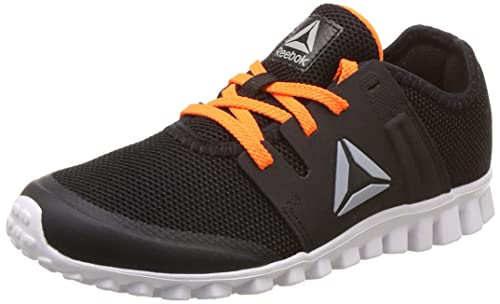 575a66297dd Reebok Boy s Black Wild Orange Running Shoes-13 Kids UK India (31 EU) (13.5  US) (CN4447)  Buy Online at Low Prices in India - Amazon.in