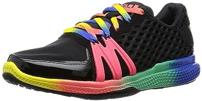 adidas Damen Ively Sneaker Schwarz 5.5 EU  8.5Mehrfarbig