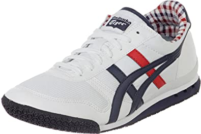 Onitsuka Tiger Ultimate 81 White Navy Mens Trainers  Amazon.co.uk ... 9793aa26e29