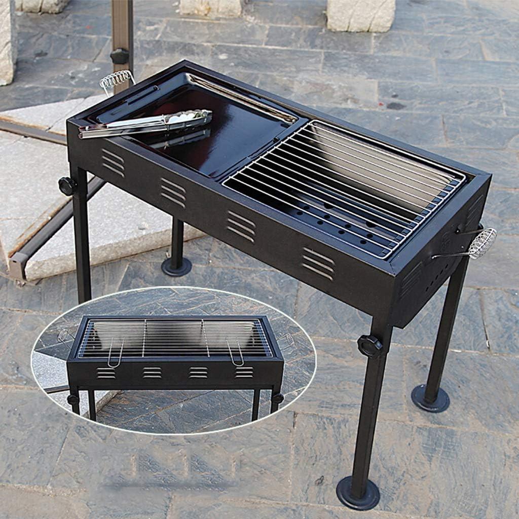 XuQinQin BBQ Grill Barbecue Sauvage en Plein air Four à