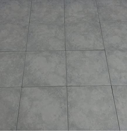 10m2 1st Quality Glazed Porcelain Floor Tile Deal 330 X 330 Grey
