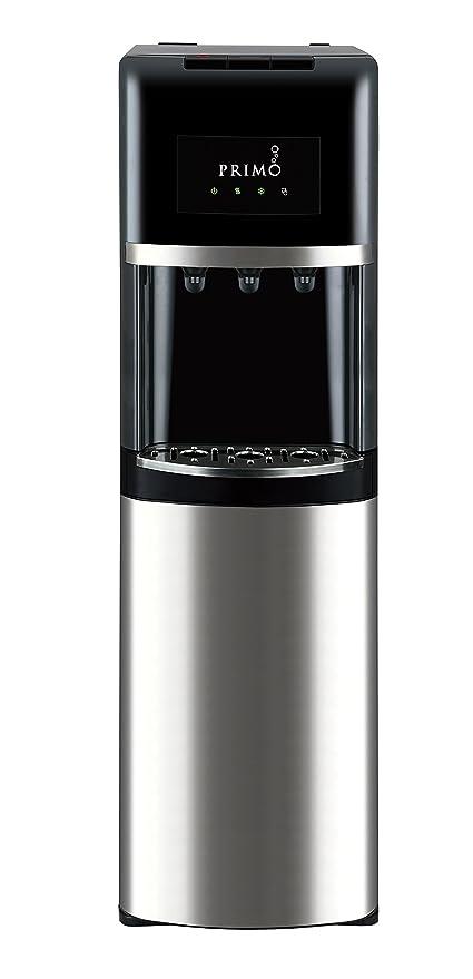 Primo y parte inferior negro de acero inoxidable dispensador de agua embotellada de carga – 3