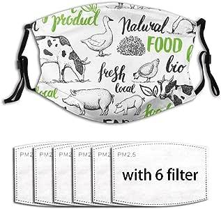 Amazon.com : Bit Farm Animals Handwritten Wildlife Food ...
