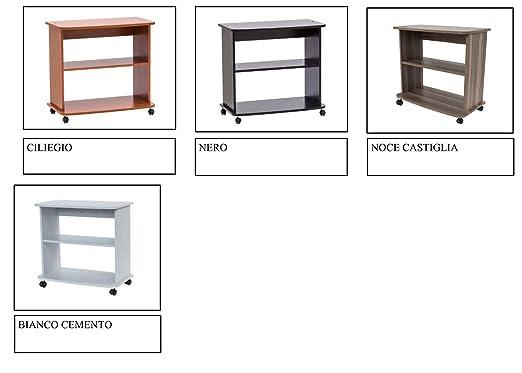 Relax e Design - Mueble Carro de 71 x 75 x 40 cm, para TV ...