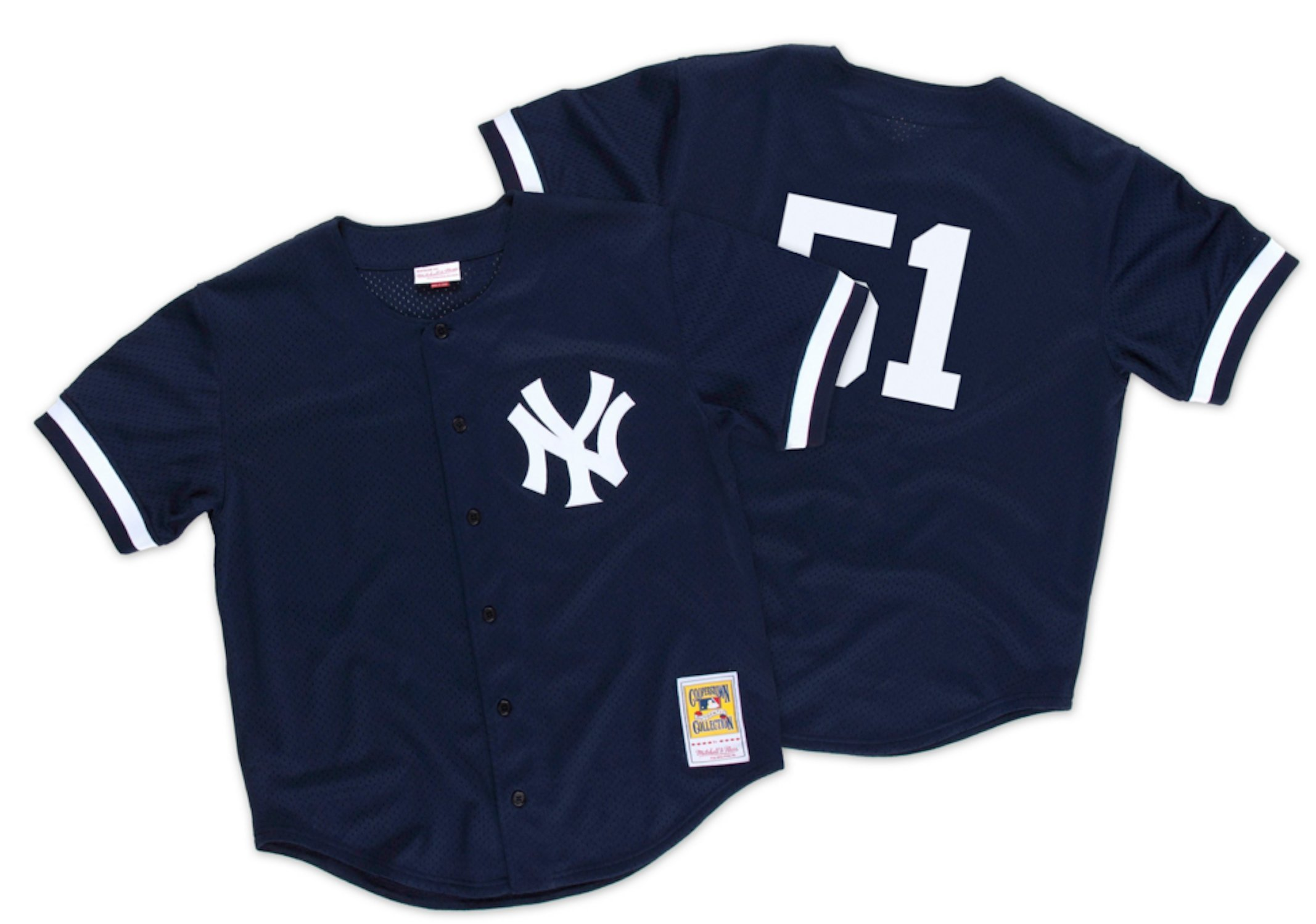 Mitchell & Ness Williams 1998 Authentic Mesh Bp Jersey New York Yankees Size Small