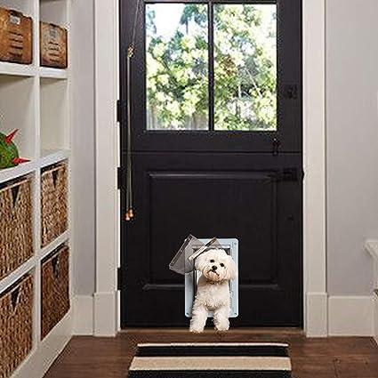 Ideal Pet Products Designer Series Ruff-Weather Pet Door with Telescoping Frame,