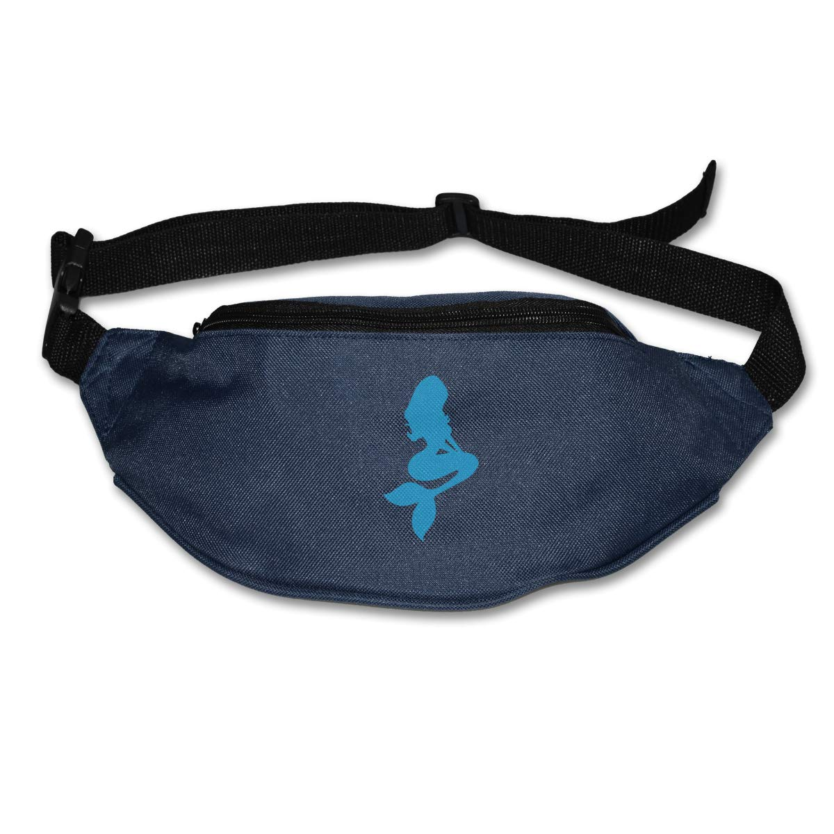 Mermaid Blue Sport Waist Pack Fanny Pack Adjustable For Hike