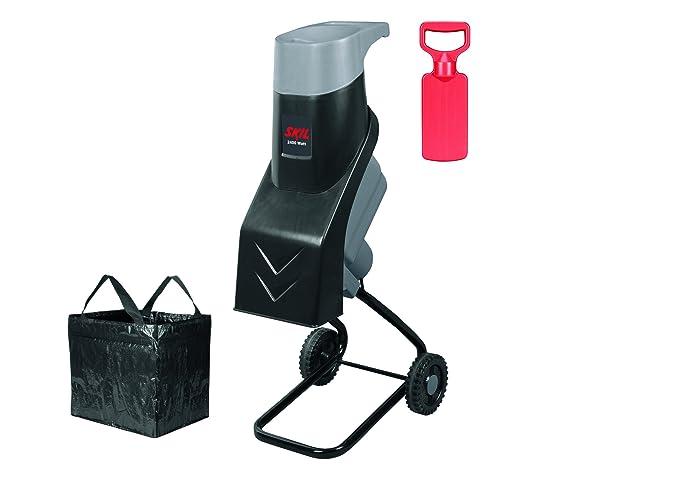 Skil 0770AT - Biotrituradora, 2400 W, ramas 38 mm, corte con cuchillas reversibles, incluye bolsa y serrucho manual: Amazon.es: Bricolaje y herramientas