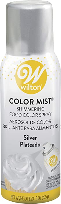 Wilton Metallic, 1.5 oz, Silver Color Mist