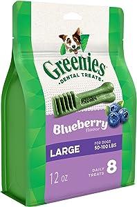 GREENIES Blueberry Natural Dental Dog Treats