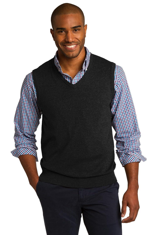 Port Authority Men's Sweater Vest at Amazon Men's Clothing store: