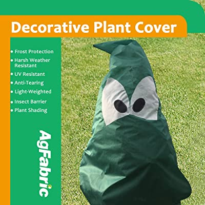 Agfabric Plant Cover Freeze Frost  Protection Bag H72''xW65'', 1.5oz, Shrub Jacket for Cold Winter Weather : Garden & Outdoor