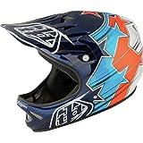 Troy Lee Designs Midnight 2 D2 Composite Bike Sports BMX Helmet - Matte Black