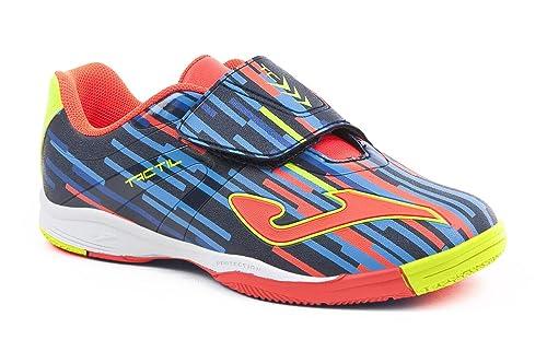 JOMA Tactil, Zapatos de Futsal Unisex Niños, Azul (Navy), 38 EU