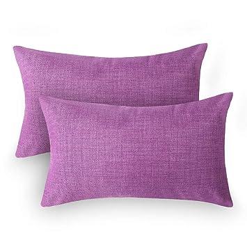 Amazon.com: Loom & Mill - Juego de 2 fundas de almohada de ...
