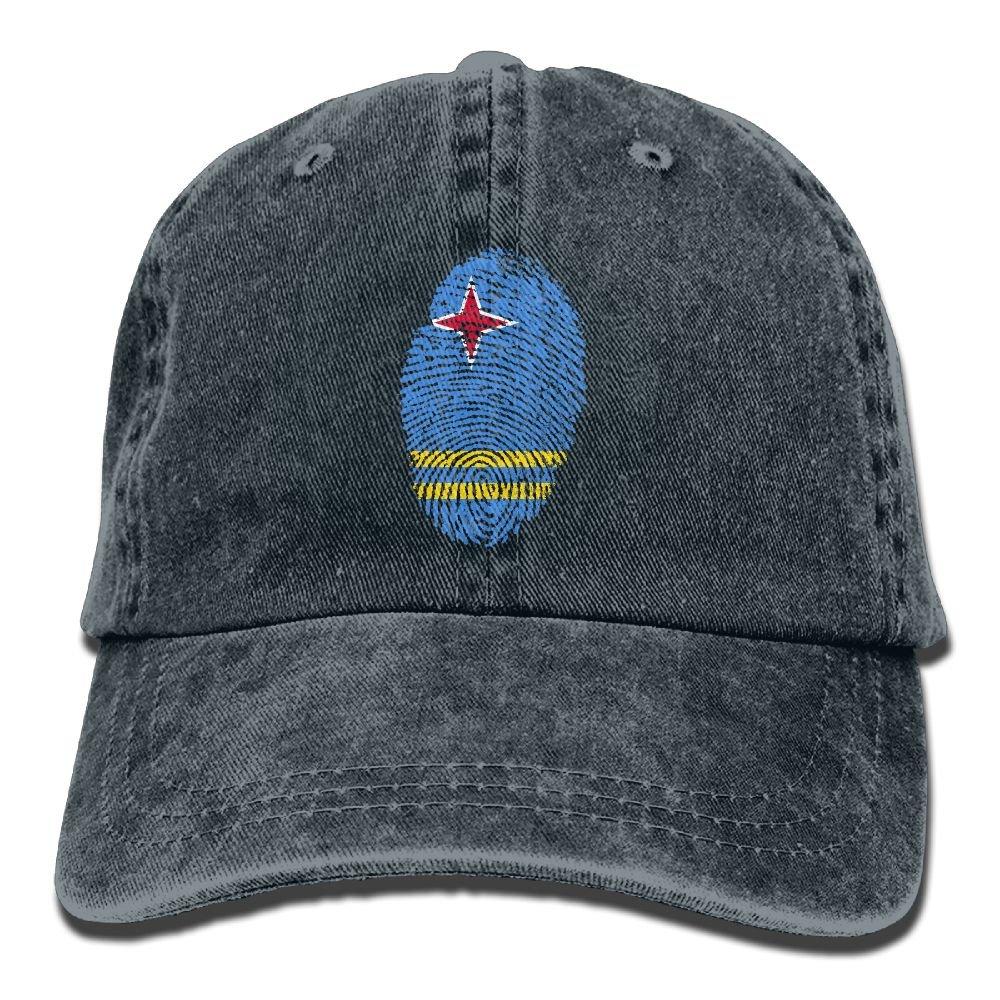 SDFS83 Aruba Adult Cowboy Hat Baseball Cap Adjustable Athletic Customizable Novelty Hat For Men and Women