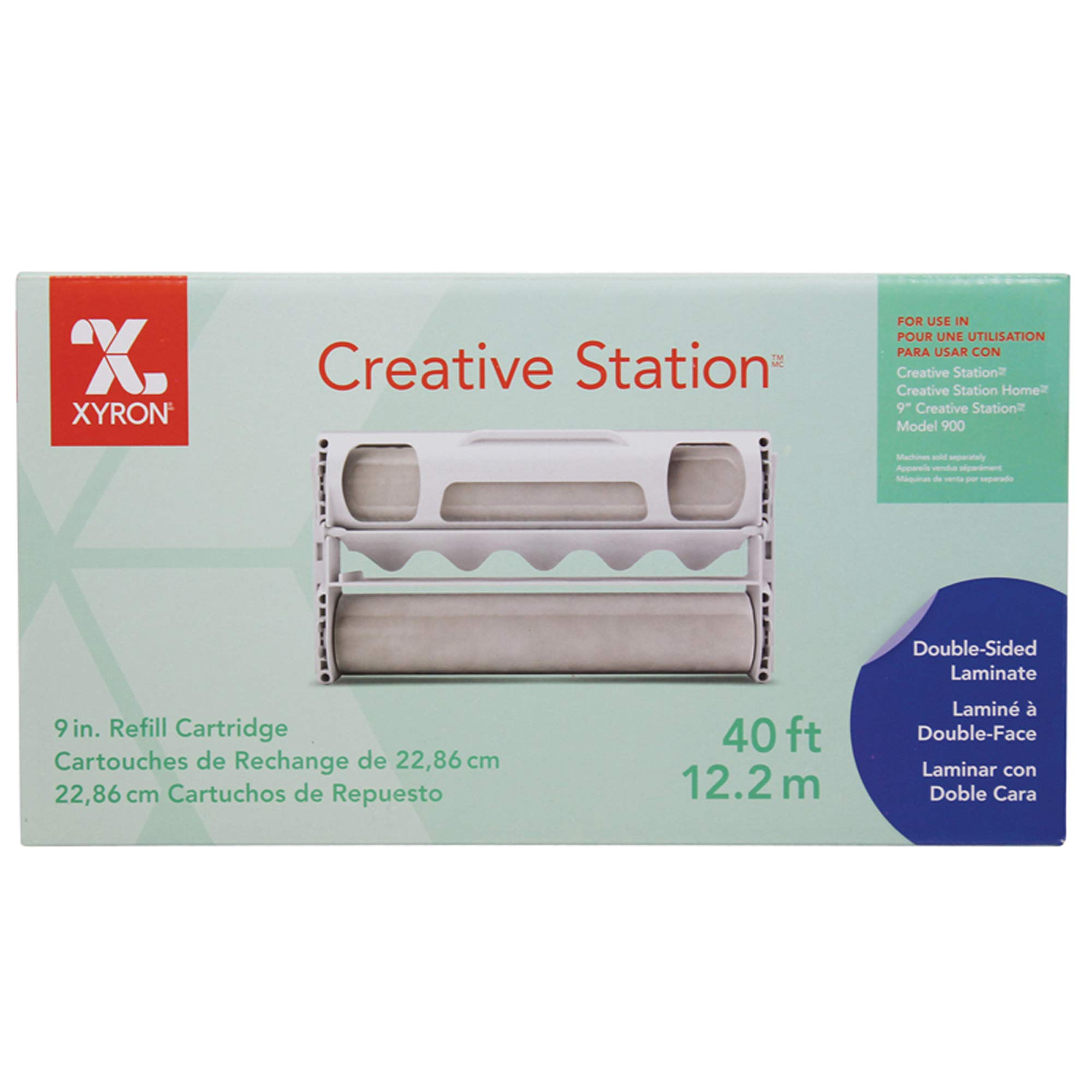 Xyron 9'' Two Sided Lamination Refill for Creative Station, 40' (0902-01-40)
