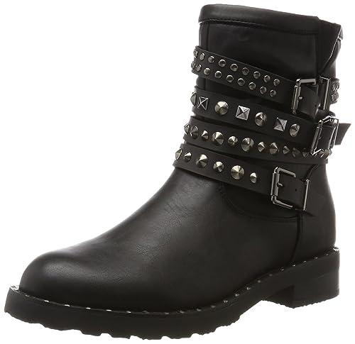 105917523EP, Sneaker a Collo Basso Donna, Nero, 37 EU Prima Donna