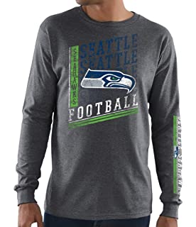 cd47bbd2 Amazon.com : Majestic Seattle Seahawks Mens Down To The Wire Long ...