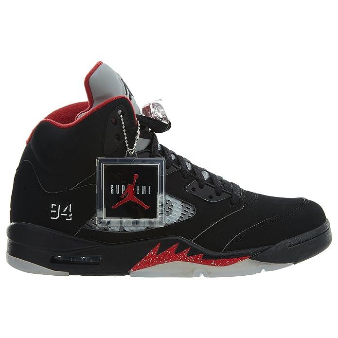 e69ee0e9191 Amazon.com | Air Jordan 5 Retro Supreme