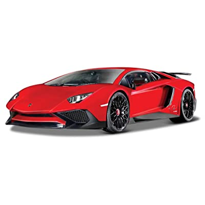 "Bburago B18-21079 1:24 Scale \""a Lamborghini Aventador\"" Die-cast Model: Toys & Games [5Bkhe0204503]"