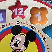 Amazon.com: Melissa & Doug Disney Mickey Mouse Wooden ...