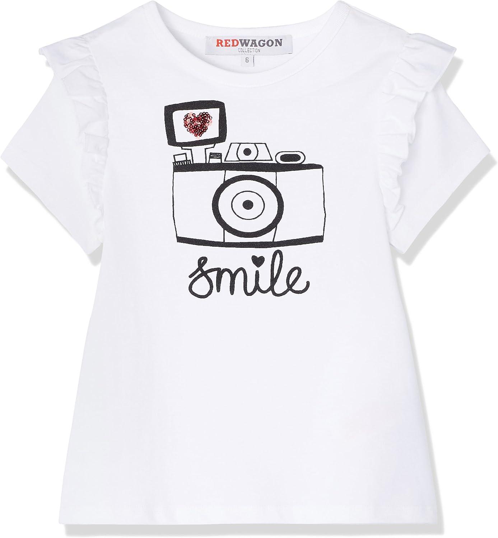RED WAGON M/ädchen T-Shirt mit Kamera-Motiv Marke