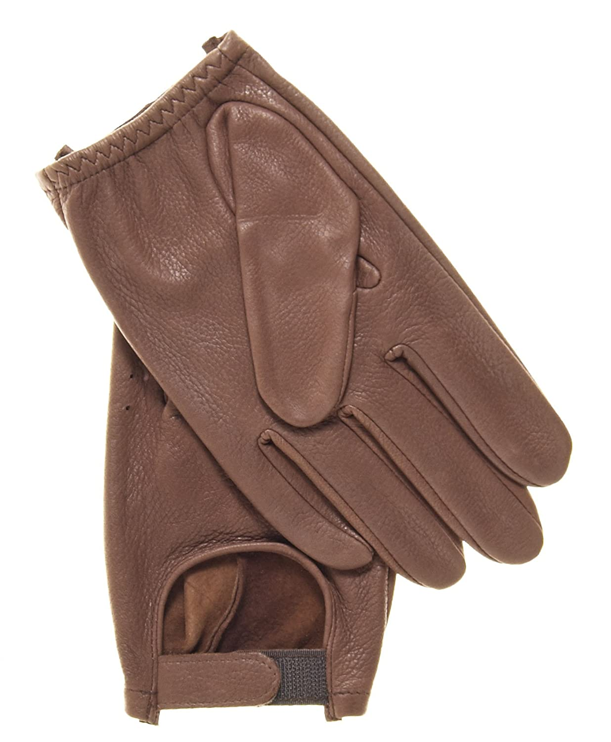 Deerskin leather driving gloves - Pratt And Hart Men S Deerskin Leather Driving Gloves Size S Color Black At Amazon Men S Clothing Store Cold Weather Gloves