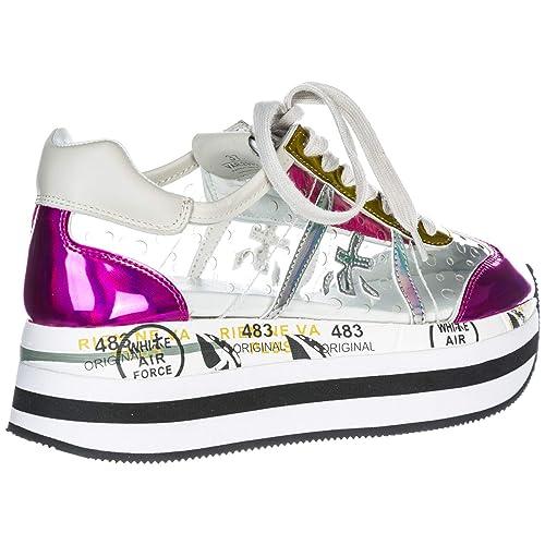 Premiata Zapatos Zapatillas de Deporte Mujer Beth Fuxia EU 37 Beth 2992: Amazon.es: Zapatos y complementos