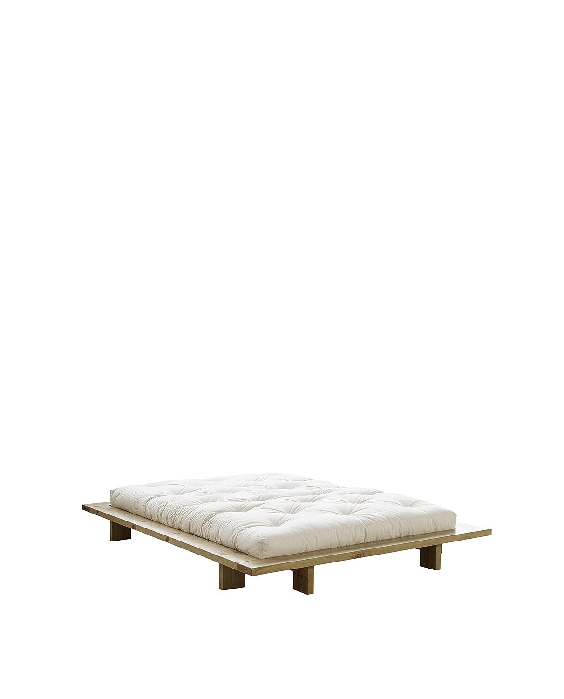 Karup 270114140200 Japan Bed 168 Bettgestell, Holz, Honig, 228 x 168 ...