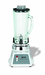 Waring Commercial 7011HG 2-Speed Food Blender with Glass Container and Heavy Duty Motor, 40-Ounce