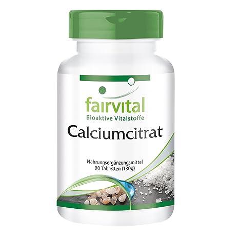 El citrato de calcio con calcio 300 mg - 1 mes - VEGAN - ALTA DOSIS