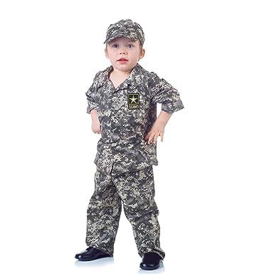 U.S. Army Camo Baby Costume Size Medium  sc 1 st  Amazon.com & Amazon.com: Little Boysu0027 Camo Army Costume: Clothing