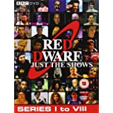 Red Dwarf Just The Shows (Series 1 to 8) - 10-DVD Box Set ( Red Dwarf - Series I to VIII (52 Shows) ) [ NON-USA FORMAT, PAL,